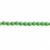 Czech Druk 3mm (Apx 62pcs) Opaque Green